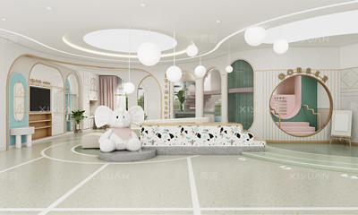 盘锦市瀚林苑国际幼儿园室内设计