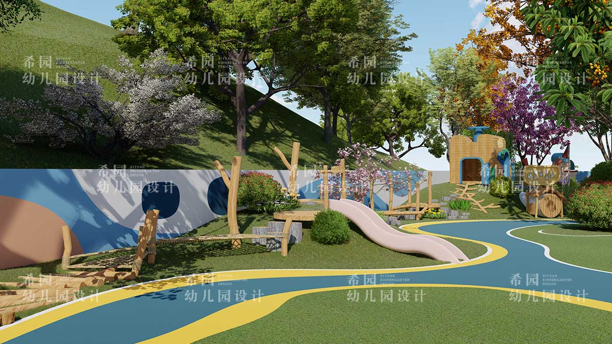 幼儿园户外场地设计