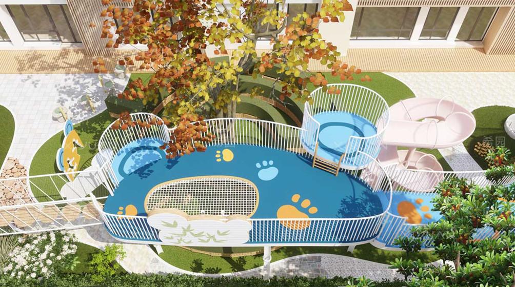 幼儿园室外设计怎么营造氛围感