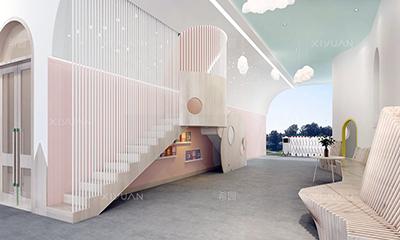 创意升级淮阳县实验幼儿园设计改造