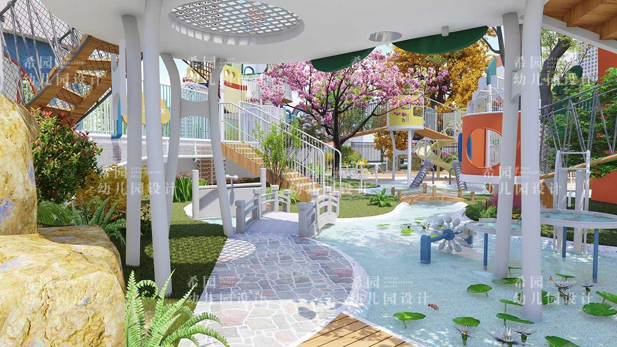幼儿园户外景观设计