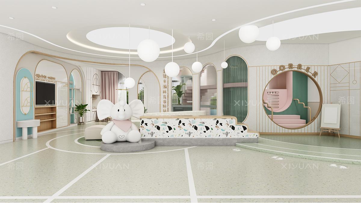 幼儿园大厅设计