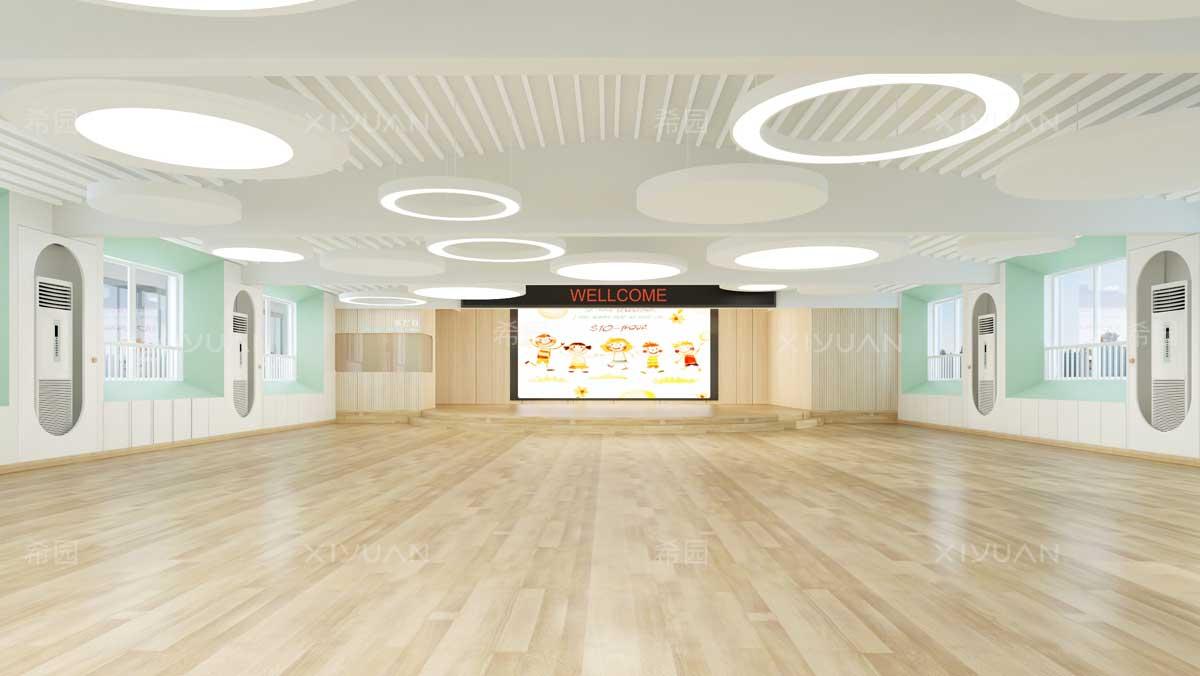 幼儿园多功能厅设计