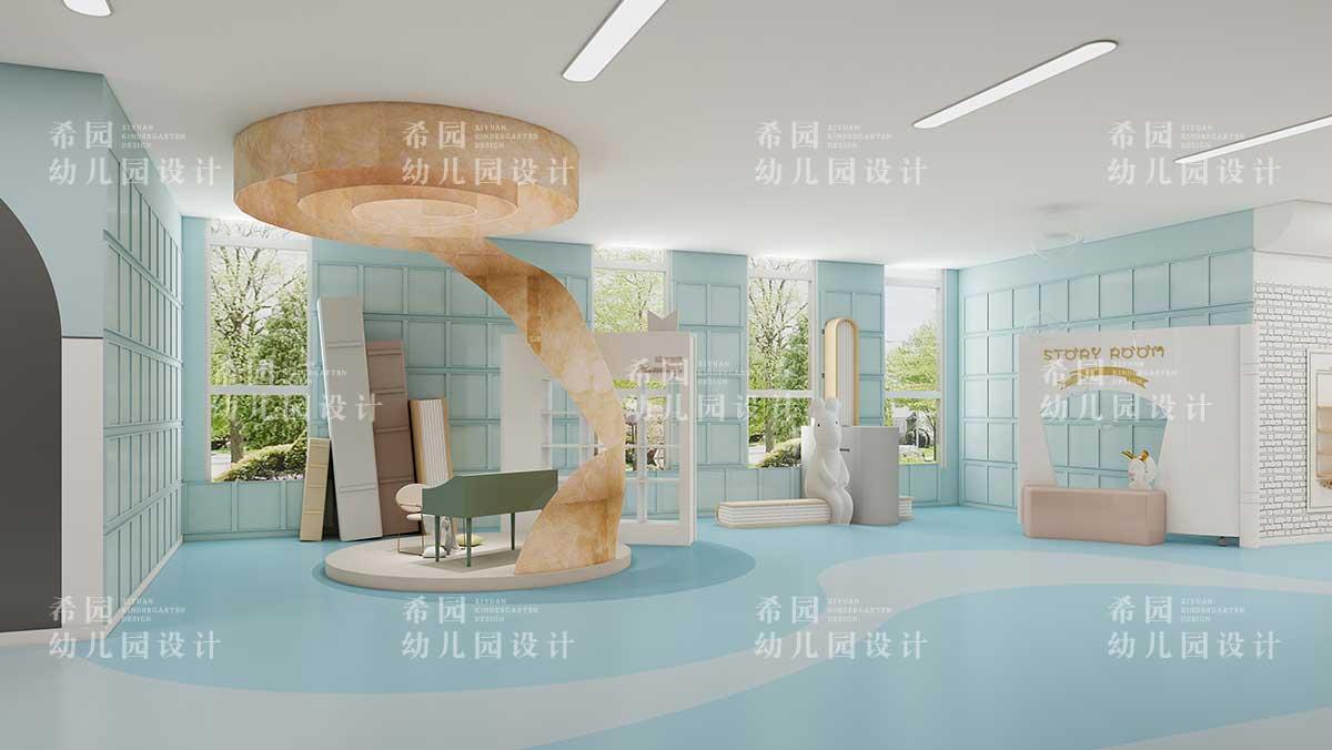 幼儿园室内设计之梦幻城堡