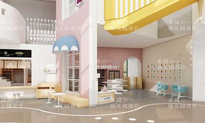 潍坊临朐县幼儿园室内设计