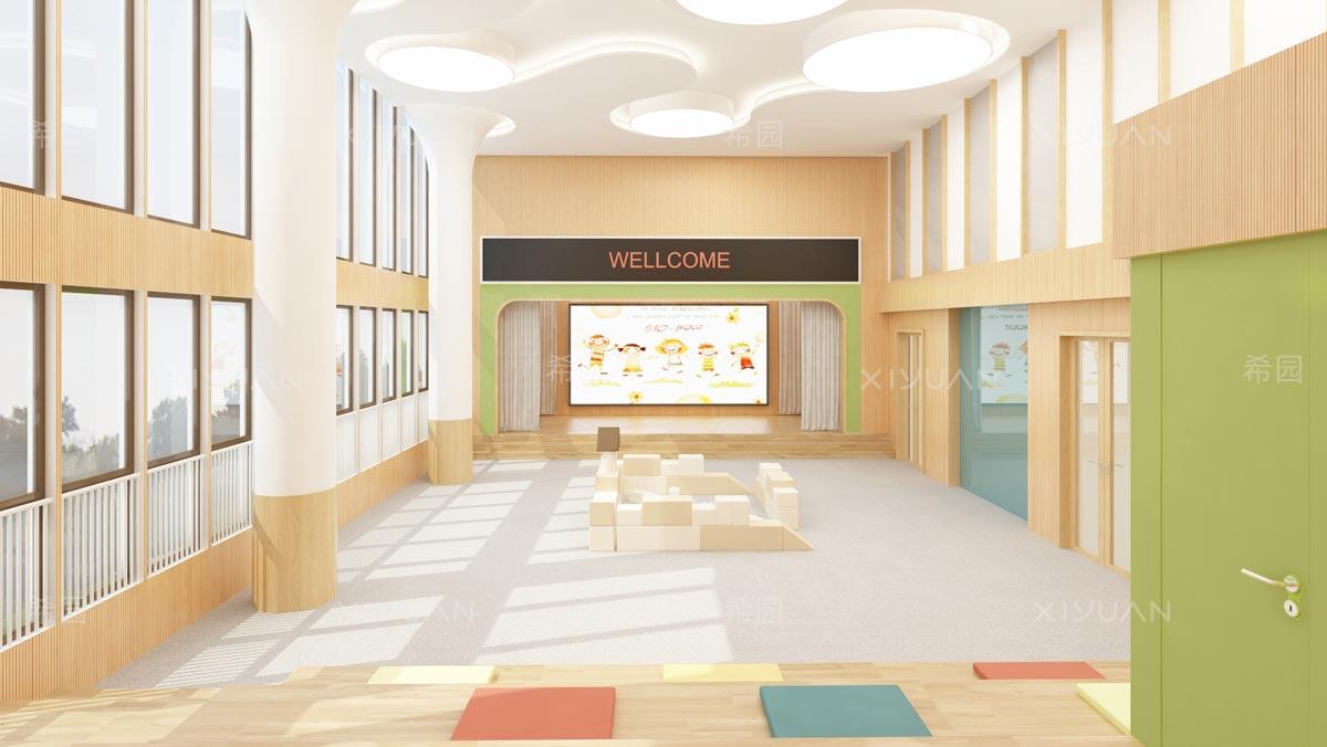 幼儿园多功能室设计